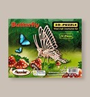Puzzle Butterfly 3-D