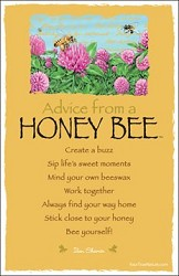 Postcard Advice from a Honey Bee