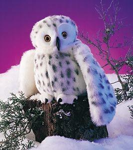 Puppet Snowy Owl,2236-