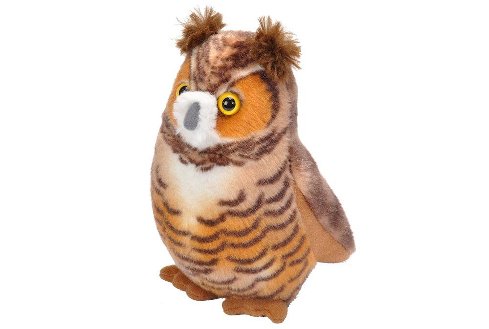 Singing Great Horned Owl,18240 (4)