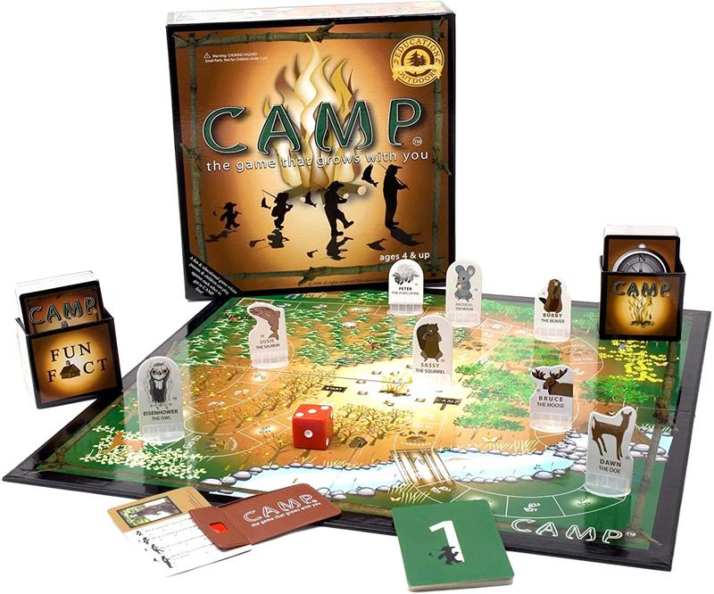 Camp Board Game,890183001006  #