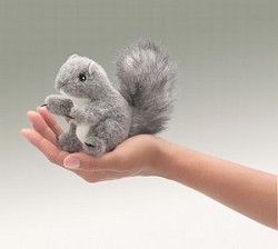 F Puppet Squirrel Gray