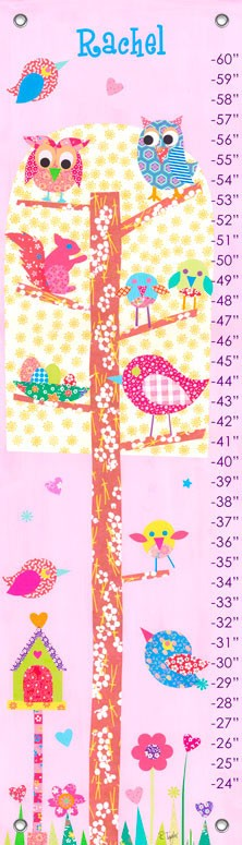 Growth Chart Little Owls,PE2999