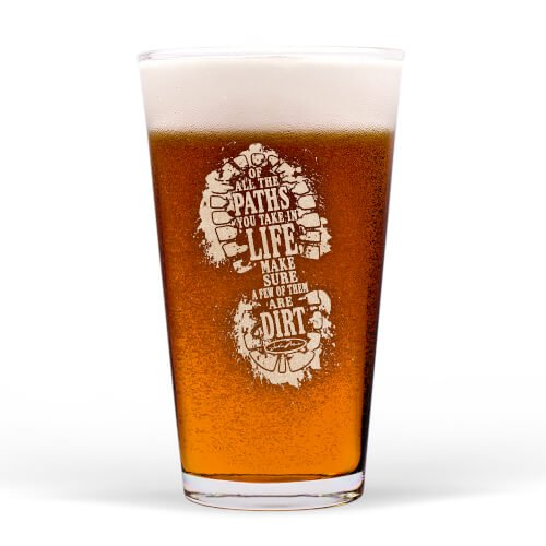 Pint Glass Dirt Path,458 PINT