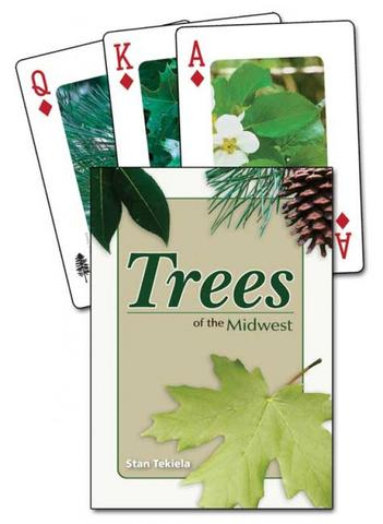 Trees of the Midwest Playing Cards,9781591932864