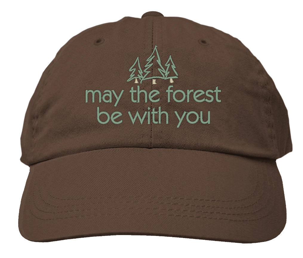 Hat Brown May the Forest Be With You,HAT 515 BROWN