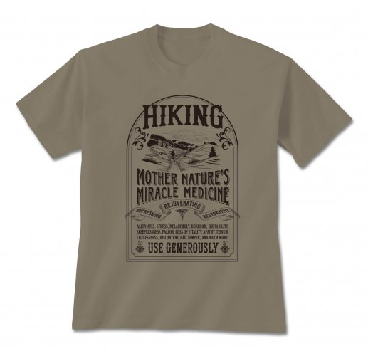 Tshirt Hiking Cure,460 MED