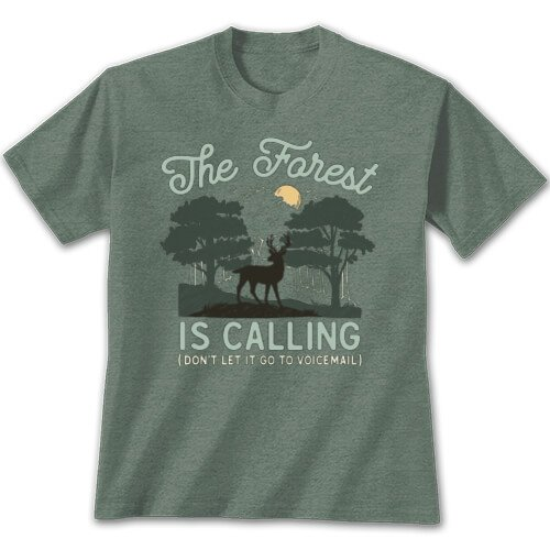 Tshirt Forest is Calling,496 SM