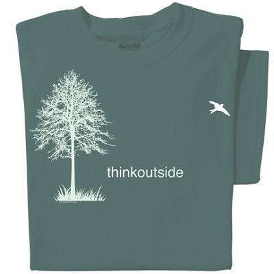 Tshirt Think Outside,ARTTOTS