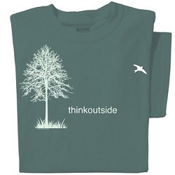 Tshirt Think Outside,ARTTOTS