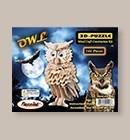 Puzzle Owl 3-D