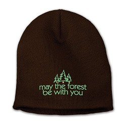 Knit Cap May the Forest Be With You