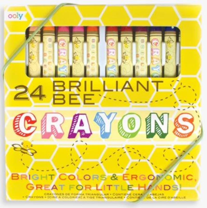 Brilliant Bee Crayons,133-50