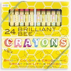 Brilliant Bee Crayons,133-50