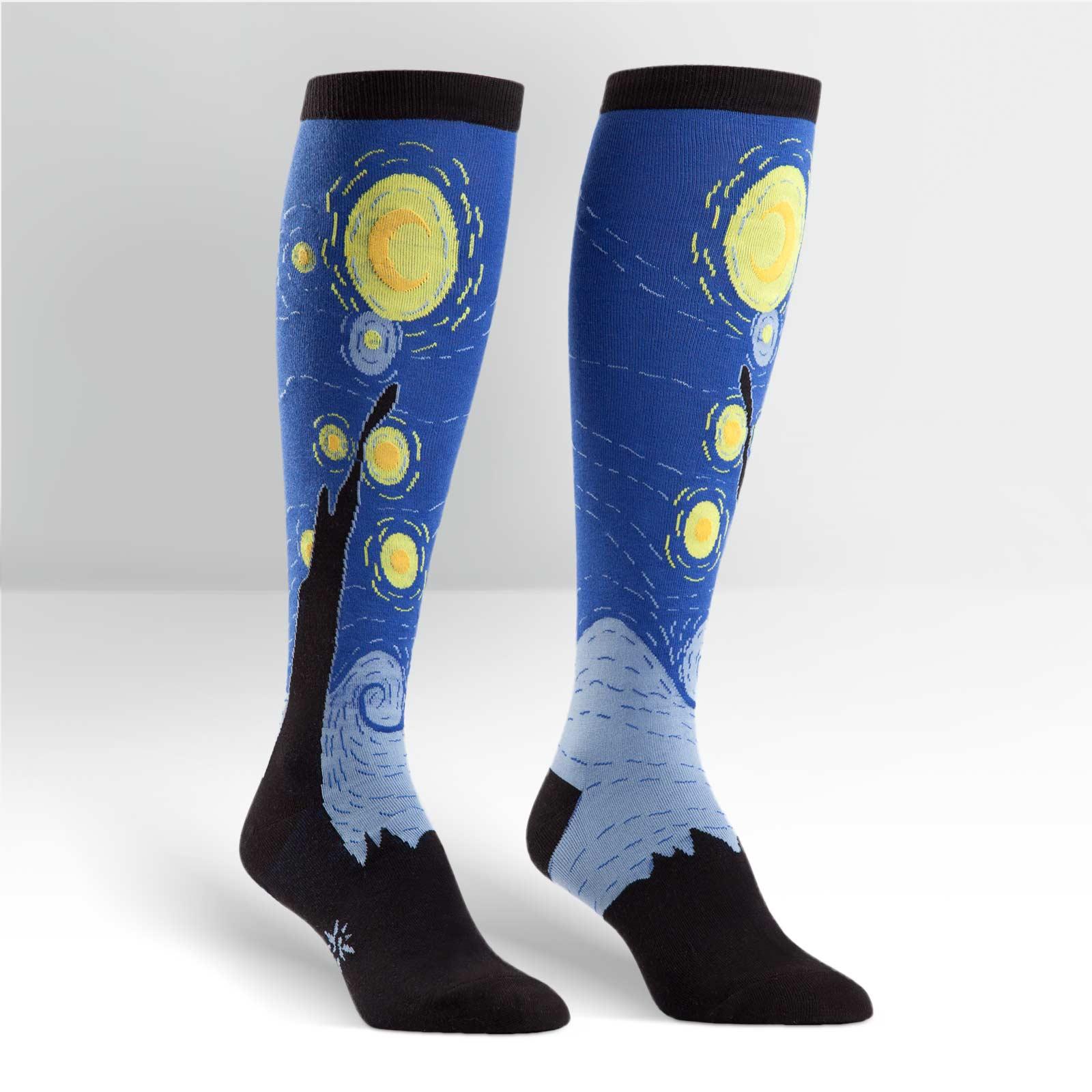 Sock Starry Night,F0121