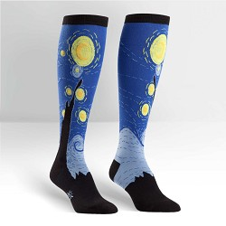 Sock Starry Night
