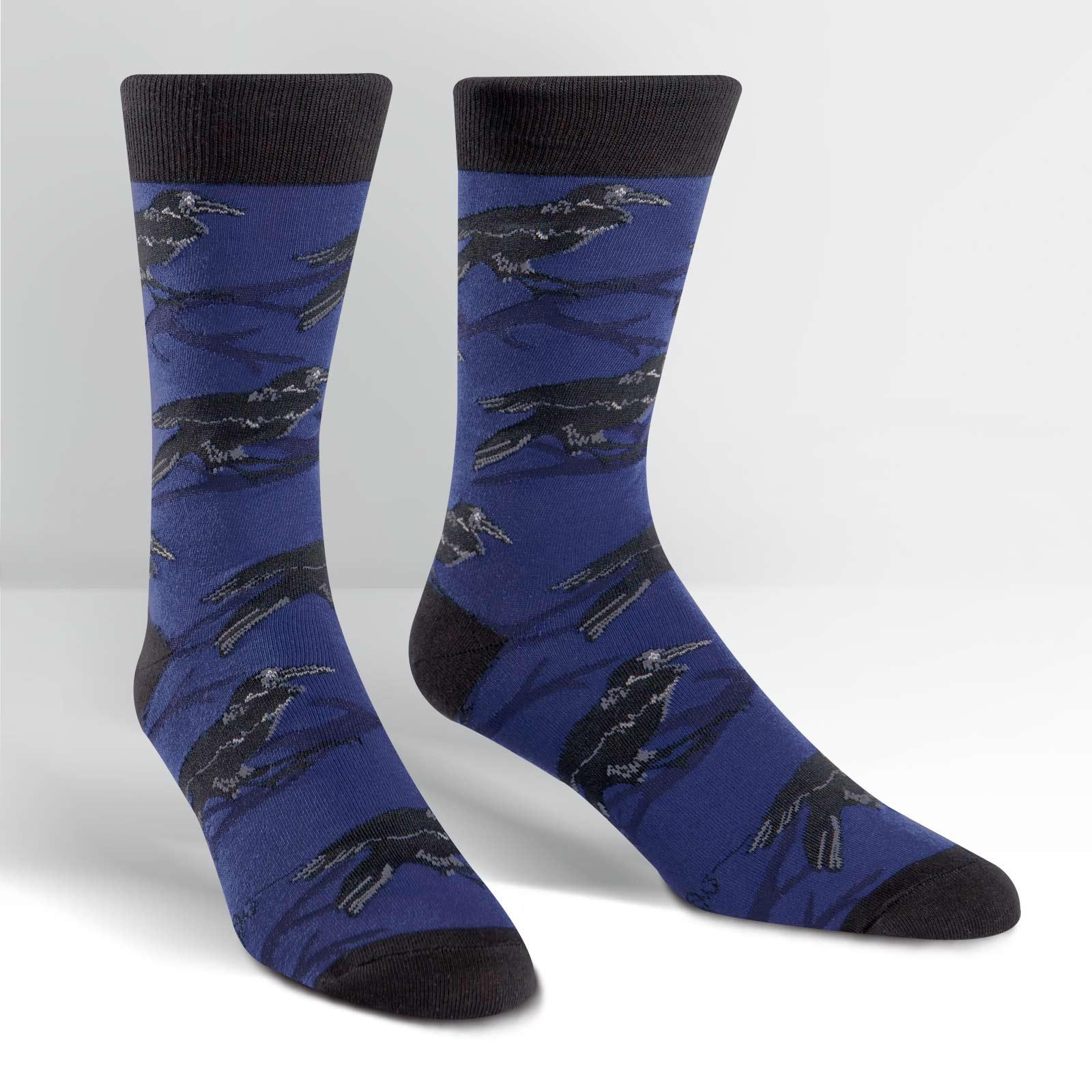 Sock Mens Raven,MEF0163 RAVEN