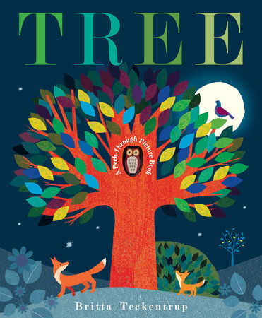 Tree: A Peek-Through Picture Book,9781101932421