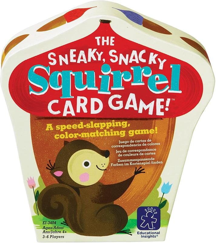 Card Game Sneaky Squirrel,EI-3403 (6)