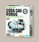 Kit Soda Can Robug
