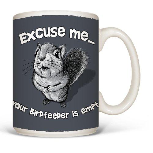 Mug Squirrel Excuse Me