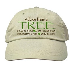 Hat Advice from a Tree