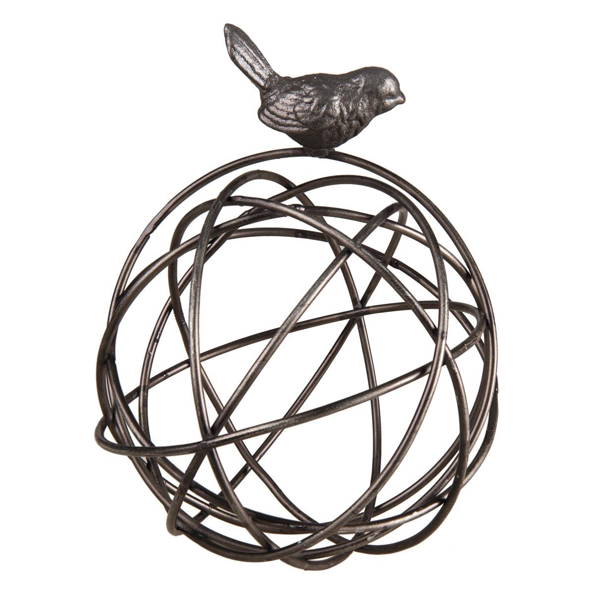 Wire Orb w/ Bird,FDAD02947