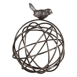 Wire Orb w/ Bird