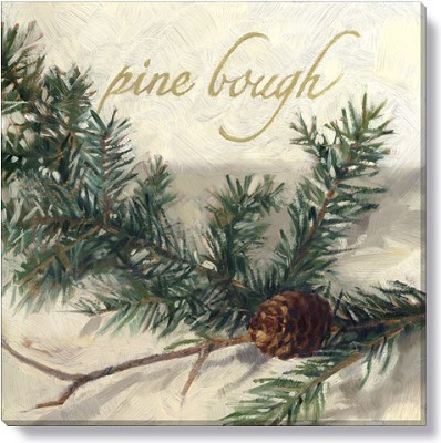 "Canvas 9"" Pine Bough,123-S-0909"