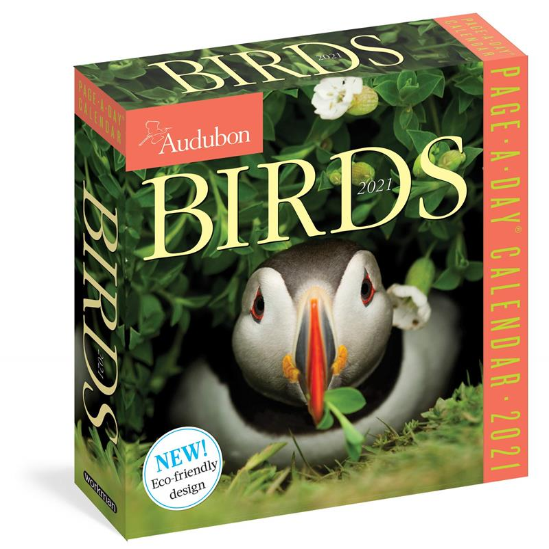 Calendar 2021 Birds Boxed Page-A-Day,9781523508990