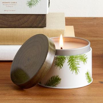 Frasier Fir Candle Tin,0521493000