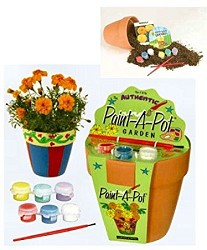 Kit Paint a Pot Garden