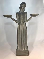 "Statue Bird Girl 15"""