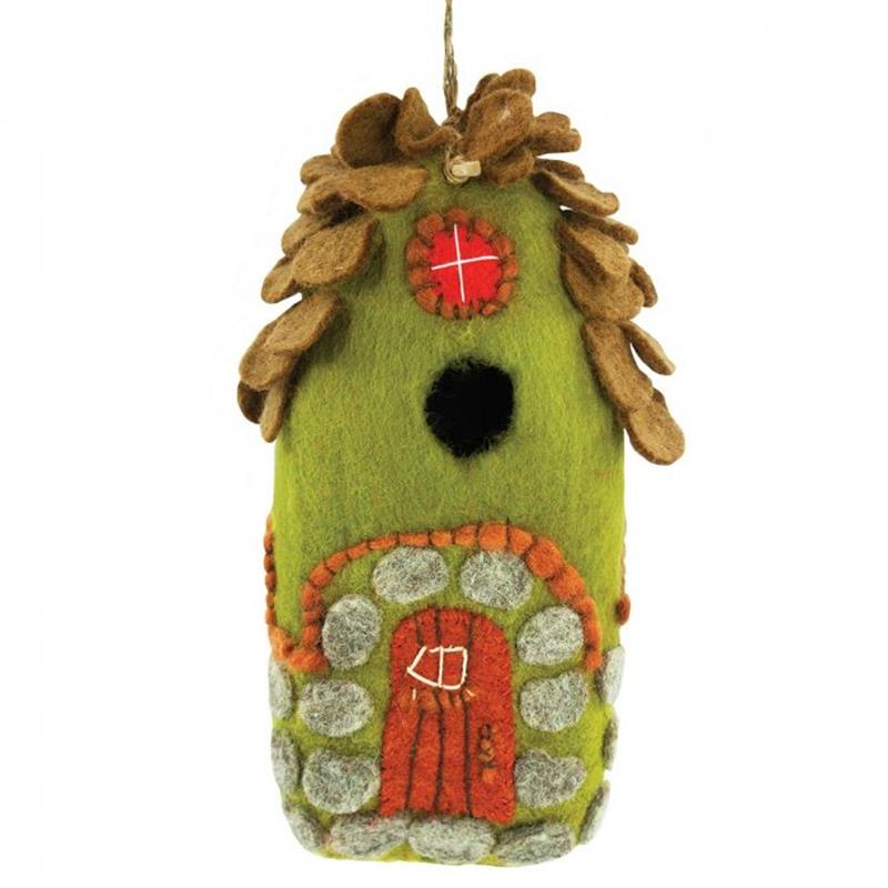 Forest House Felt Birdhouse,484027000