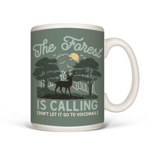 Mug Forest is Calling,496 MUG