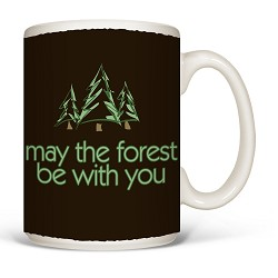 Mug May the Forest