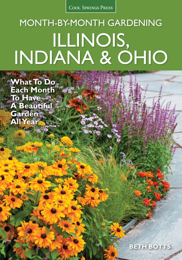 Illinois, Indiana & Ohio Month-by-Month Gardening,9781591866435