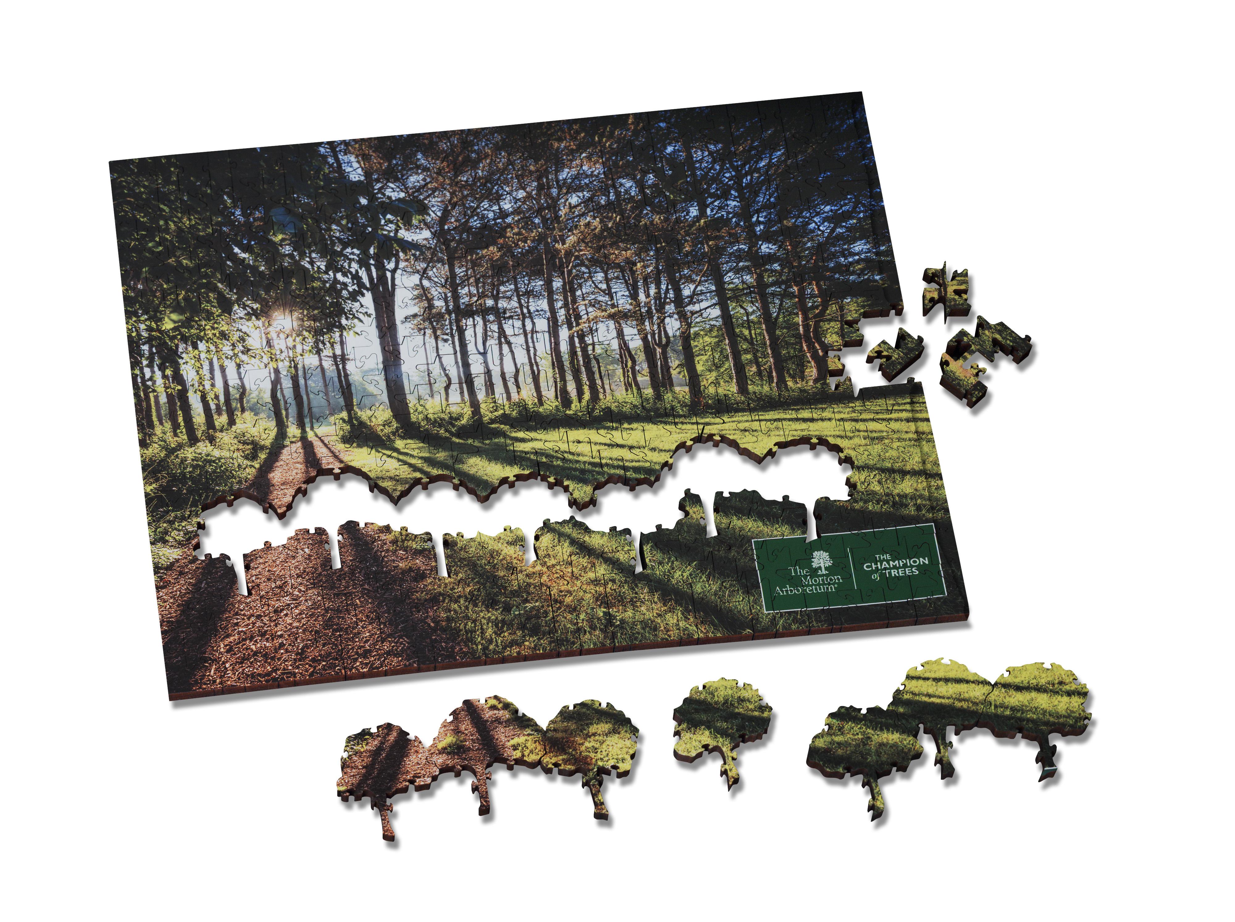 Arboretum Wood Puzzle