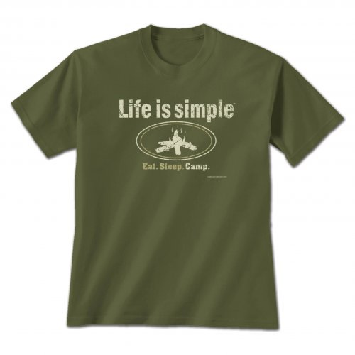 Tshirt Life is Simple - Camp,714 XXL
