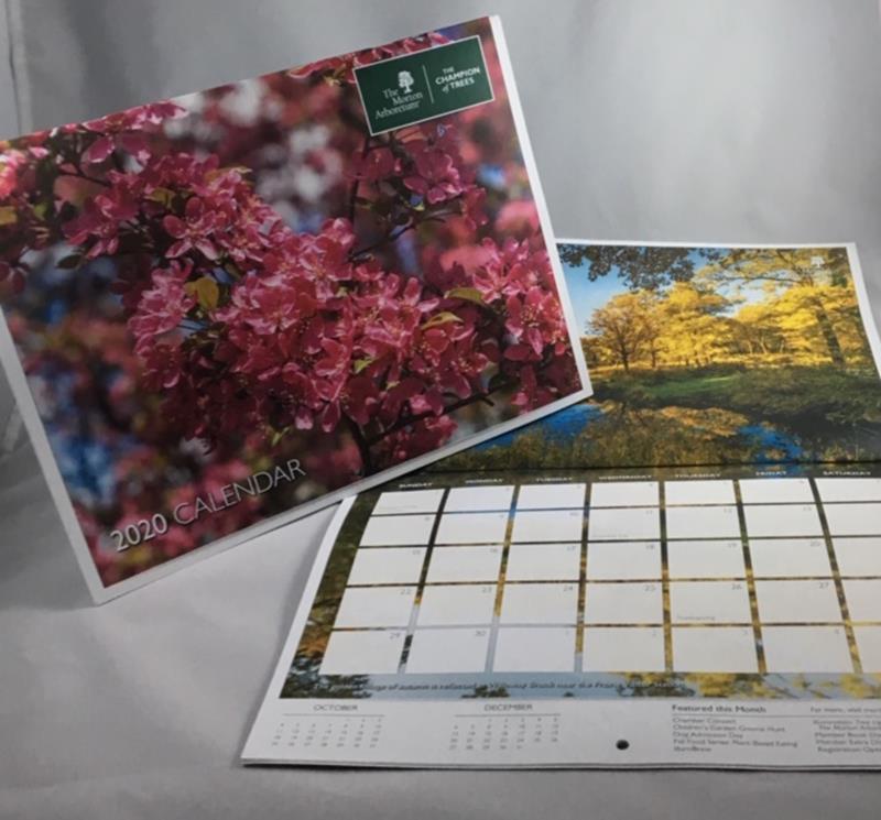 2020 Arboretum Calendar,ARB 2020 CAL